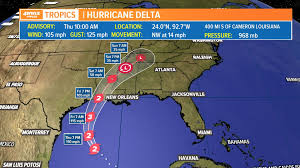 Southern Area – Louisiana District Temporarily Suspends Operations Hurricane Delta